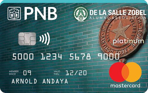 DLSZAA Platinum Mastercard!