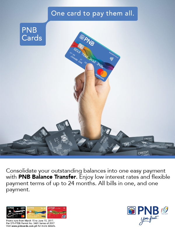 Consolidating credit cards into one card