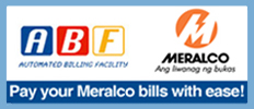 Pay your Meralco bill with ease!